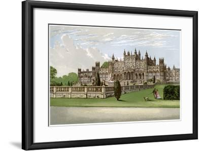 Eaton Hall, Cheshire, Home of the Duke of Westminster, C1880-AF Lydon-Framed Giclee Print