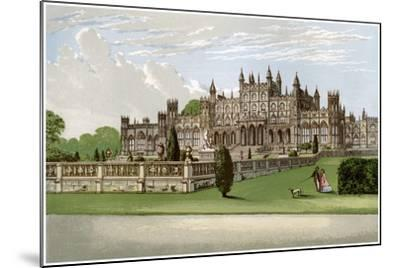 Eaton Hall, Cheshire, Home of the Duke of Westminster, C1880-AF Lydon-Mounted Giclee Print