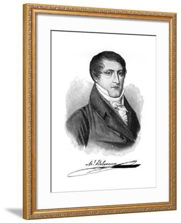 Manuel Belgrano, 19th Century Argentine Economist, Lawyer, Politician and Military Leader--Framed Giclee Print