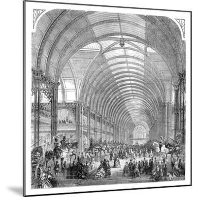Interior View of the Manchester Exhibition, 1857 (Late 19th Centur)--Mounted Giclee Print