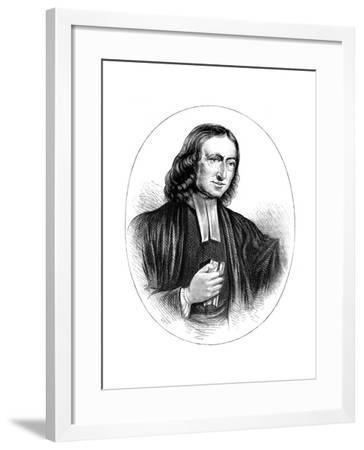 John Wesley, English Non-Conformist Preacher, 18th Century--Framed Giclee Print
