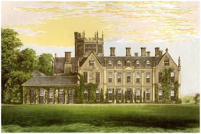 Melbury House, Dorset, Home of the Earl of Ilchester, C1880-AF Lydon-Framed Giclee Print