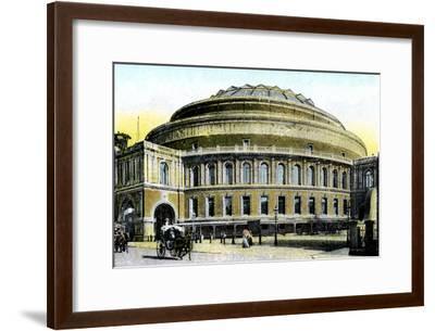 Albert Hall, London, 20th Century--Framed Giclee Print