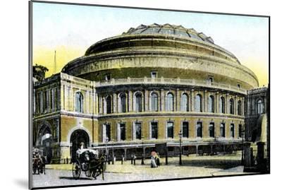 Albert Hall, London, 20th Century--Mounted Giclee Print
