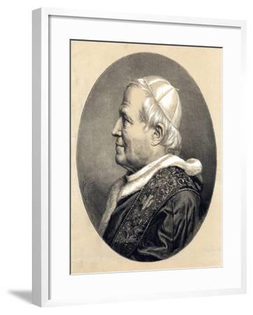 Pope Pius IX, 1846--Framed Giclee Print