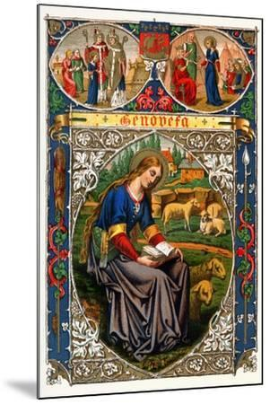 St Genevieve, 1886--Mounted Giclee Print