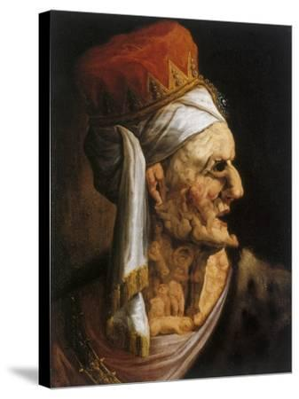 Herod, 17th Century--Stretched Canvas Print