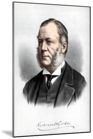 Charles Henry Gordon-Lennox, Duke of Richmond and Gordon, C1890-Petter & Galpin Cassell-Mounted Giclee Print