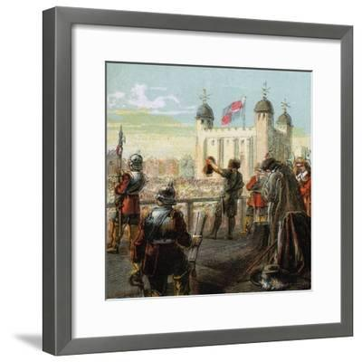 The Execution of Lord Strafford, 1641--Framed Giclee Print