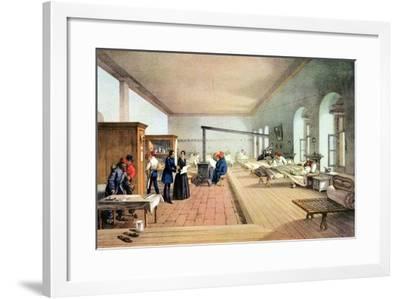 Florence Nightingale (1820-191), English Nursing Pioneer and Hospital Reformer-William Simpson-Framed Giclee Print