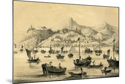 Shanghai, One of the Five Ports Opened by the Late Treaty to British Commerce, 1847--Mounted Giclee Print
