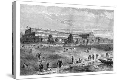 The Great Exhibition, Hyde Park, London, C1851, (1888)--Stretched Canvas Print