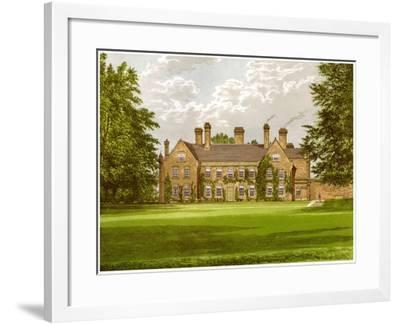 Nether Hall, Suffolk, Home of the Greene Family, C1880-AF Lydon-Framed Giclee Print