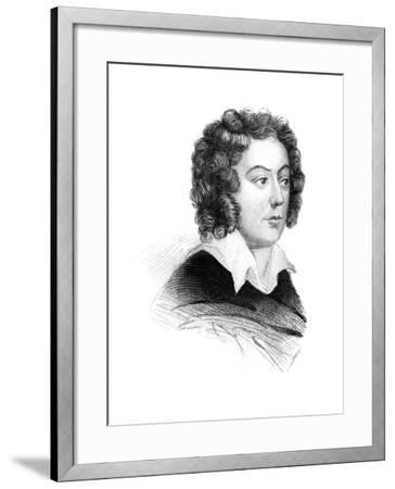 Henry Purcell, 17th Century English Baroque Composer--Framed Giclee Print