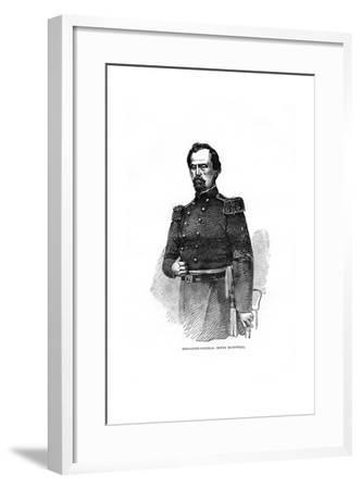 Brigadier-General Irvin Mcdowell, American Military Officer--Framed Giclee Print