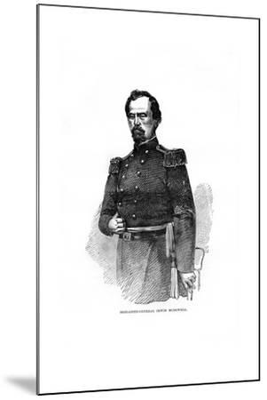 Brigadier-General Irvin Mcdowell, American Military Officer--Mounted Giclee Print