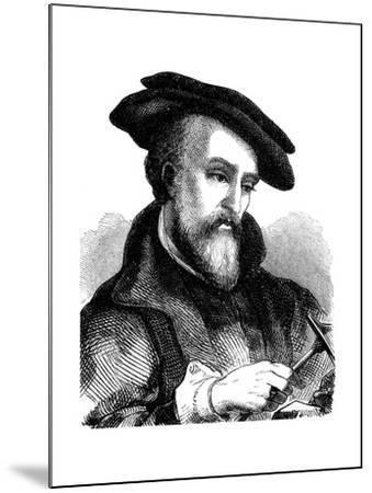 Georgius Agricola (1494-155), German Physician, Mineralogist and Metallurgist, 1881--Mounted Giclee Print