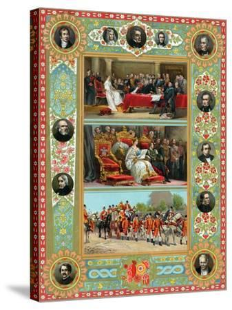 Scenes from the Reign of Queen Victoria, 1887--Stretched Canvas Print