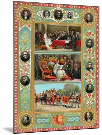 Scenes from the Reign of Queen Victoria, 1887--Mounted Giclee Print