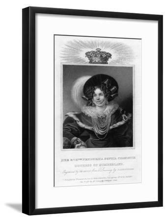 framed agate slices.htm frederica sophia charlotte  duchess of cumberland  1830 giclee  frederica sophia charlotte  duchess of