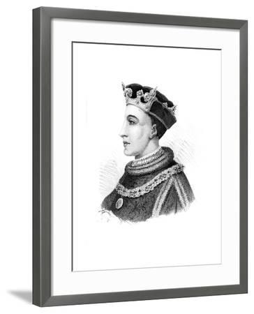 Henry V, King of England--Framed Giclee Print