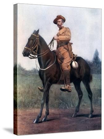 Lieutenant-Colonel Edward Bethune, Commanding Bethune's Mounted Infantry, 1902-Earl de la Warr-Stretched Canvas Print