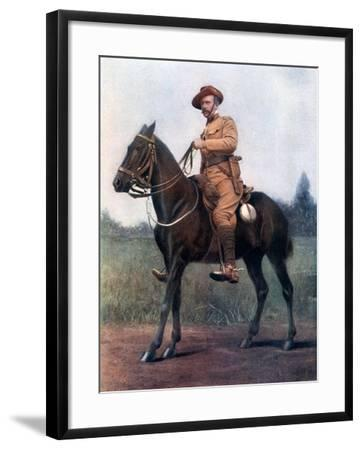 Lieutenant-Colonel Edward Bethune, Commanding Bethune's Mounted Infantry, 1902-Earl de la Warr-Framed Giclee Print
