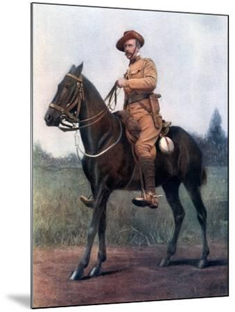 Lieutenant-Colonel Edward Bethune, Commanding Bethune's Mounted Infantry, 1902-Earl de la Warr-Mounted Giclee Print