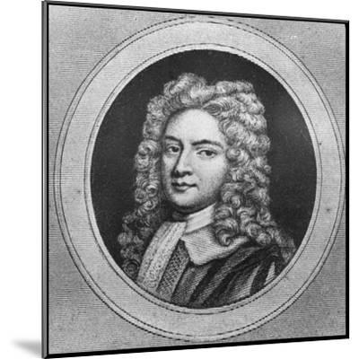 Robert Walpole, 18th Century English Statesman--Mounted Giclee Print