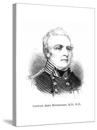 Captain John Hindmarsh, Rn, Kh, 1886--Stretched Canvas Print