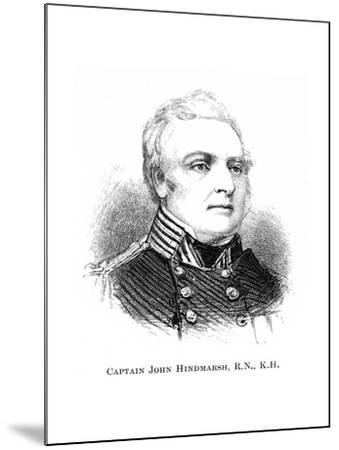 Captain John Hindmarsh, Rn, Kh, 1886--Mounted Giclee Print