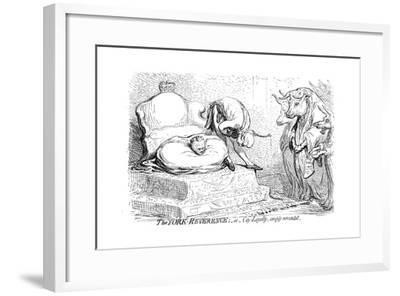 The York Reverence or City Loyalty, Amply Rewarded, 1796-James Gillray-Framed Giclee Print