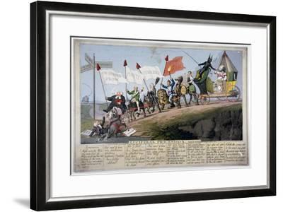 Queen Caroline's Procession-Theodore Lane-Framed Giclee Print