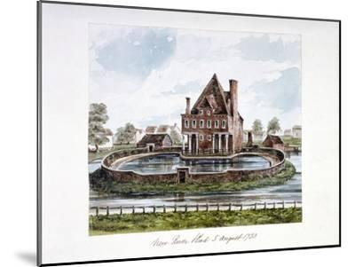 View of New River Head, Finsbury, London, 1730--Mounted Giclee Print