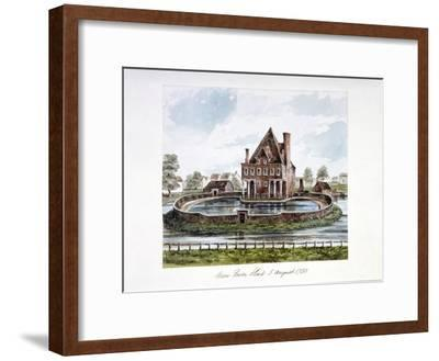 View of New River Head, Finsbury, London, 1730--Framed Giclee Print