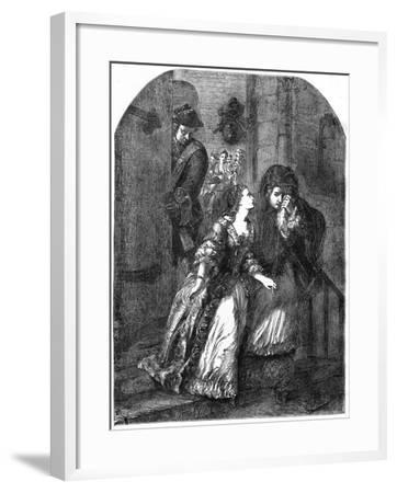 Escape of the Earl of Nithsdale from the Tower of London, 1716--Framed Giclee Print