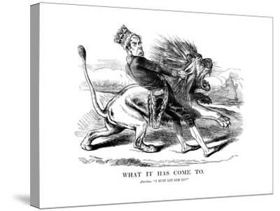 George Gordon, 4th Earl of Aberdeen (1784-186), Scottish Statesman, 1854--Stretched Canvas Print