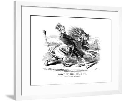 George Gordon, 4th Earl of Aberdeen (1784-186), Scottish Statesman, 1854--Framed Giclee Print