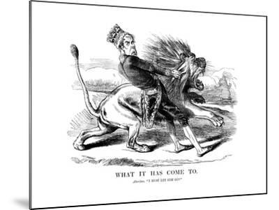 George Gordon, 4th Earl of Aberdeen (1784-186), Scottish Statesman, 1854--Mounted Giclee Print
