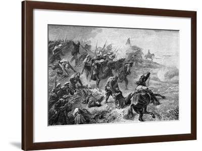 Attack of Basque Carlists During the Revolt of 1872-1876--Framed Giclee Print