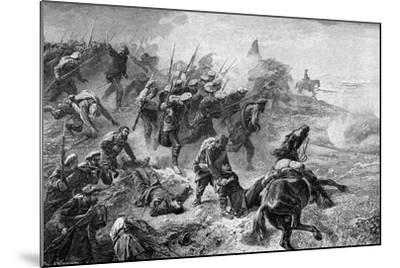 Attack of Basque Carlists During the Revolt of 1872-1876--Mounted Giclee Print