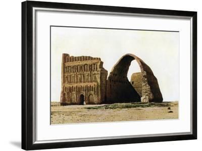 The Taq-I Kisra, Ctesiphon, Iraq, C1930S--Framed Giclee Print