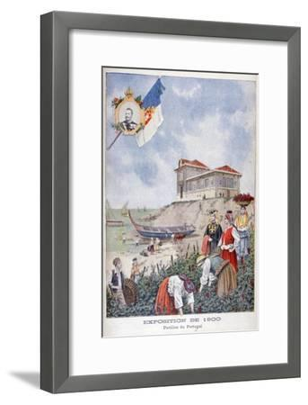 The Portuguese Pavilion at the Universal Exhibition of 1900, Paris, 1900--Framed Giclee Print