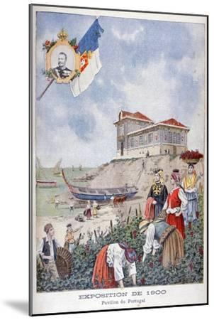 The Portuguese Pavilion at the Universal Exhibition of 1900, Paris, 1900--Mounted Giclee Print