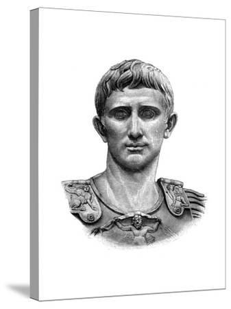 Emperor Caesar Augustus--Stretched Canvas Print