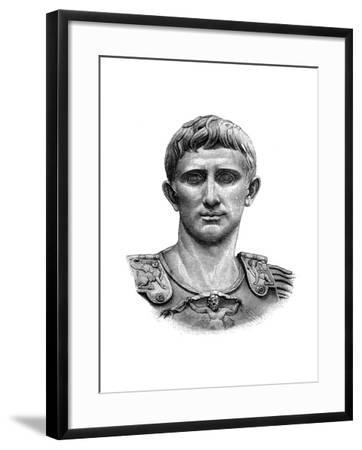 Emperor Caesar Augustus--Framed Giclee Print