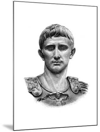 Emperor Caesar Augustus--Mounted Giclee Print