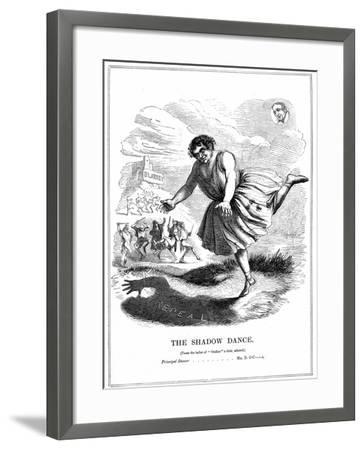 The Shadow Dance, 1843--Framed Giclee Print