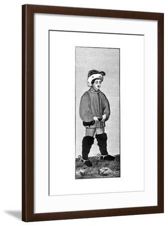 Riding Habit, 15th Century--Framed Giclee Print