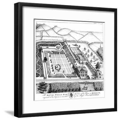 Gentleman's Model Country Estate, C1750--Framed Giclee Print